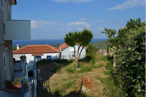 Picture of Land Plot and House - Lesvos - Loutropoli Thermis
